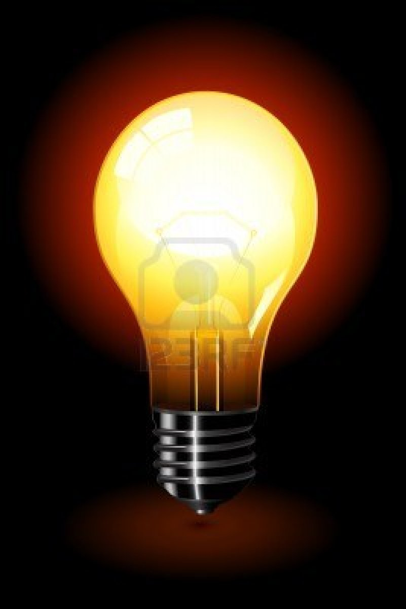6568967-bright-light-bulb-standing-isolated-over-a- & Shine Bright | RevAndy.org