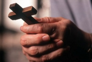 Cross in hand prayer