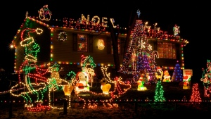 Christmas lights, Christmas decorating