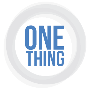 One-Thing-121