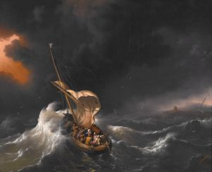 backhuysen_ludolf_-_christ_in_the_storm_on_the_sea_of_galilee_-_1695