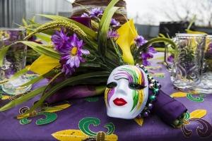 Mask Celebration Colorful Party Mardi Gras